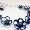 Plastic Petals Necklace