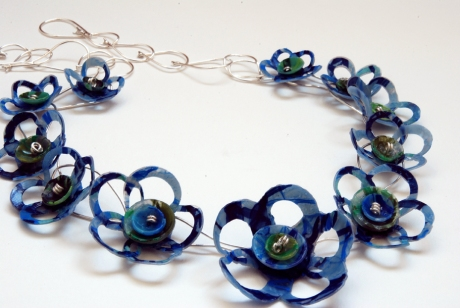 Plastic Petals Necklace
