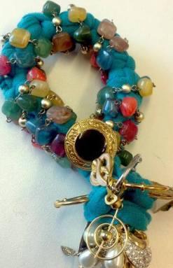 t.shirt bracelet