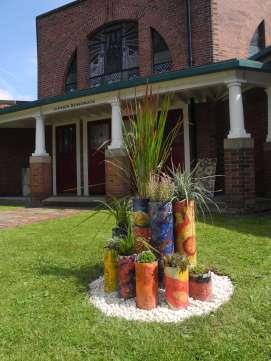 Spiral Garden Installation