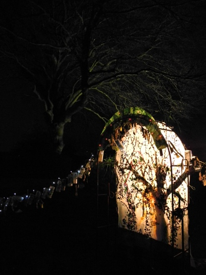 Winter Solstice piece, Erewash Festival of Light 2014