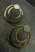 Tessa copper earrings