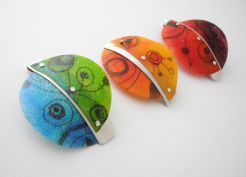Nocean Miro Brooches